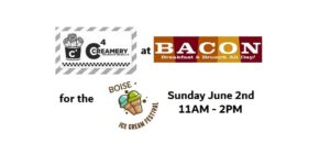 Collaboration: Bacon Restaurant and C4 Creamery @ Bacon (Restaurant)